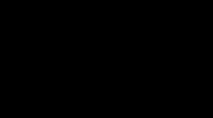 in schwarz dargestellte Frauengestalt auf weißem Hintergrund, die in sieben Positionen den Ablauf eines Rückwärtssaltos zeigt.
